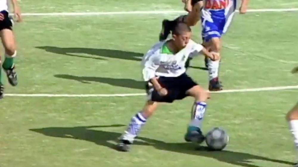 Jonatan Valle de niño en el Torneo de Brunete