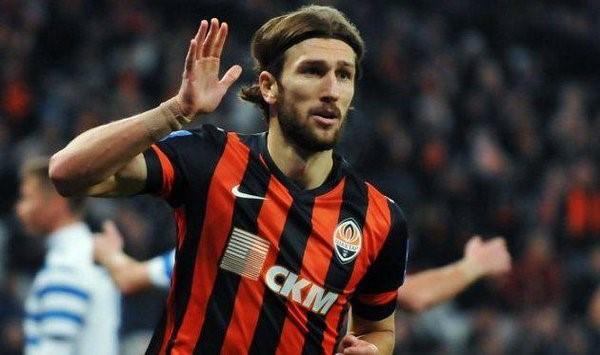 Chygrynskiy celebra un gol con el Shackhtar Donetsk. FOTO: SPORT