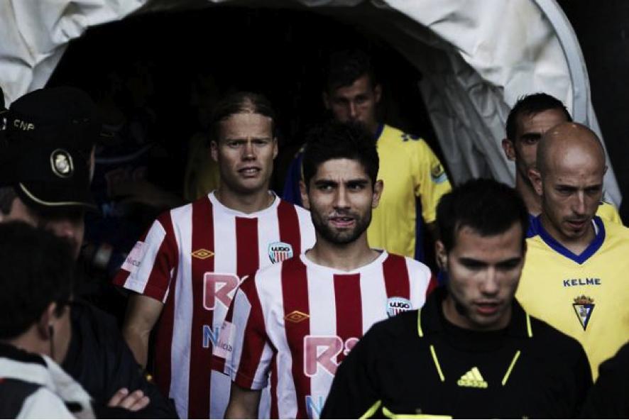 Aitor durante su etapa como jugador del Lugo. FOTO: CD Lugo.