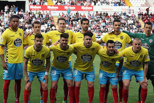 El once inicial del CD Lugo ante el Rayo