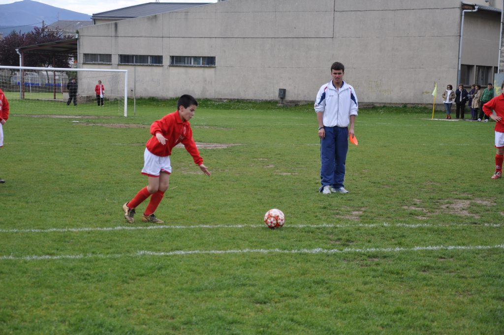 Pablo, na súa etapa como xogador do Riotorto | Cedida.