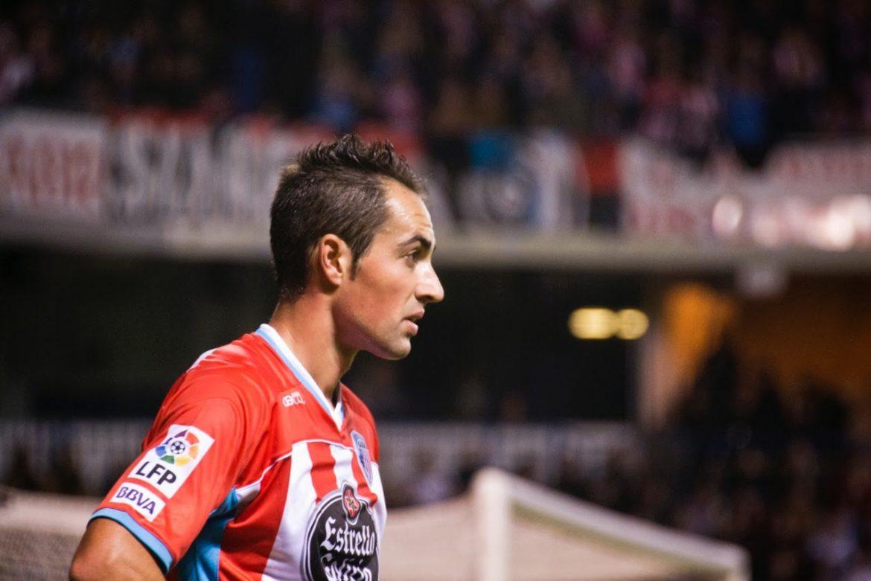 Lolo Pavón, en su etapa como jugador del CD Lugo | Foto: CD LUGO.