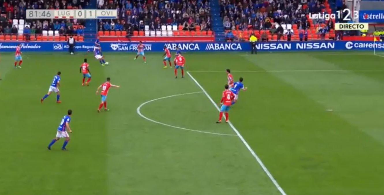 El posible fuera de juego en el gol de Toché