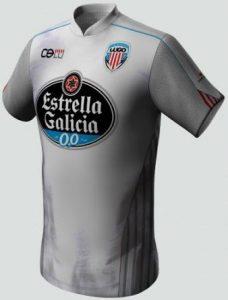 Segunda equipación CD Lugo 2014 2015