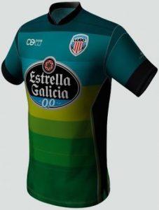 Tercera camiseta CD Lugo 2014 2015
