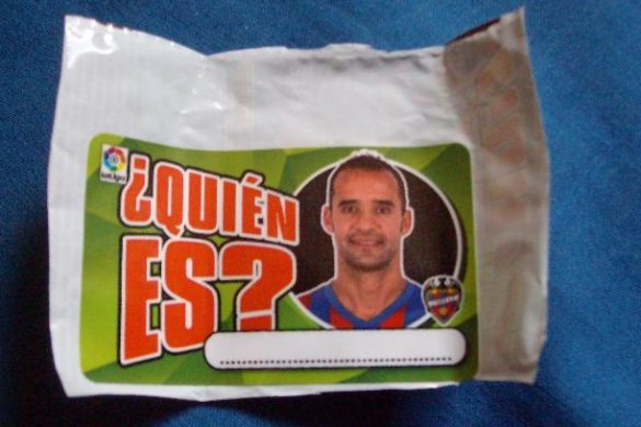 Cromo de Juanfran CD Lugo
