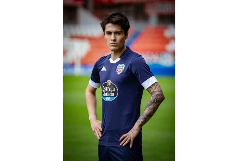Tercera camiseta cd Lugo 2019 2020