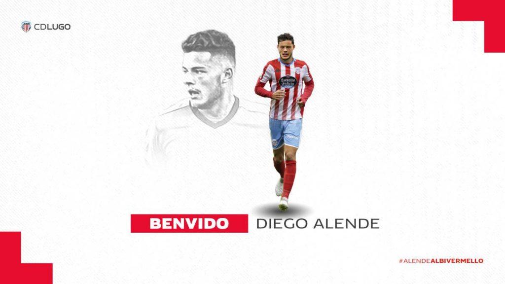 Diego Alende, nuevo fichaje del CD Lugo