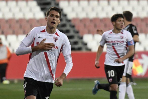 Juanpe Lele, jugador del Lugo