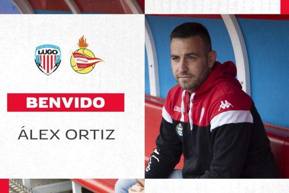 Álex Ortiz, entrenador del CD Lugo B / Polvorín