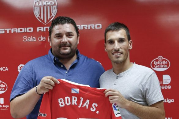 Borja San Emeterio, jugador del Lugo