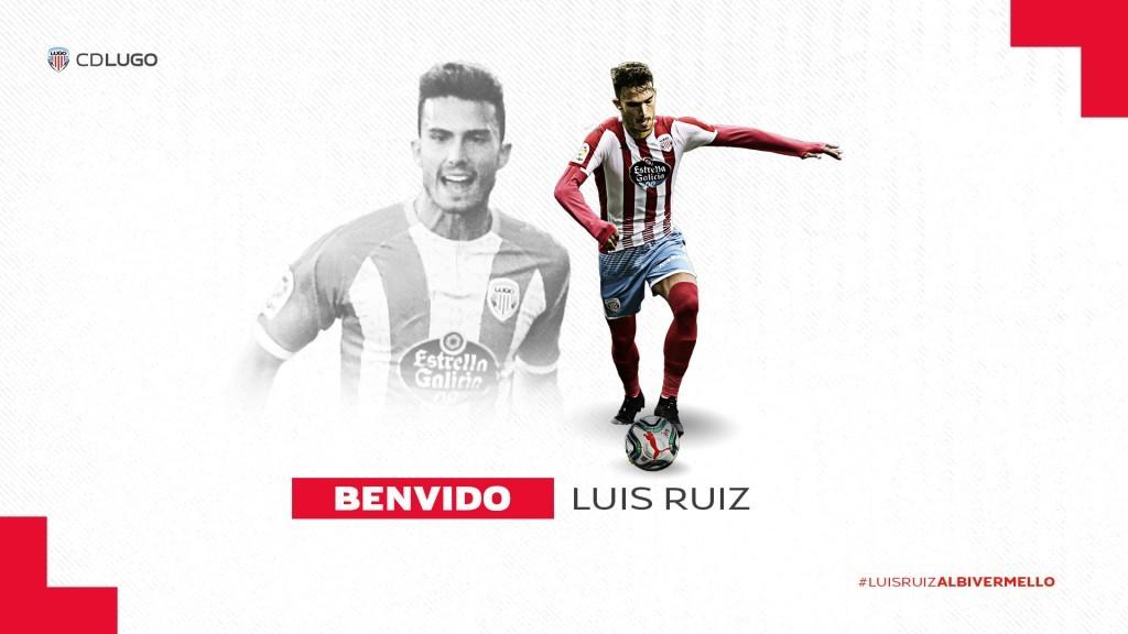 Luis Ruiz nuevo fichaje CD Lugo