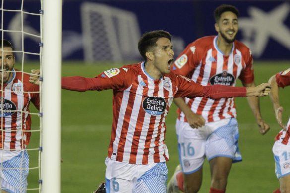 Juanpe gol crónica Tenerfie Lugo