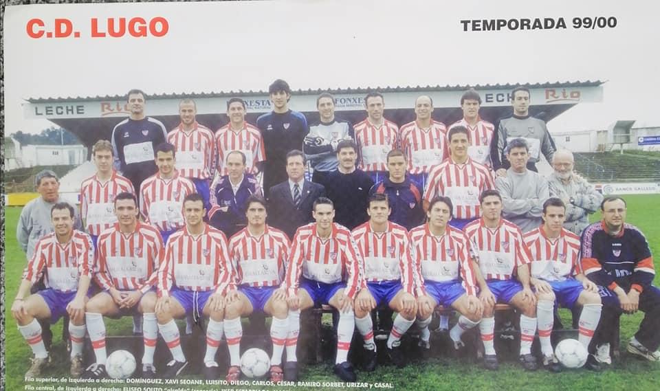 Plantilla CD Lugo 1999 - 2000