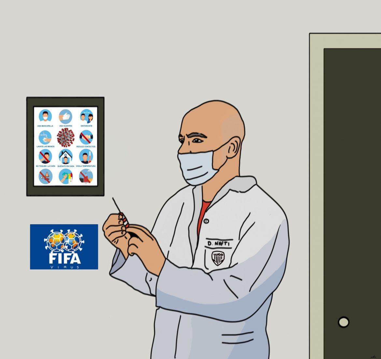 Virus FIFA vs. Nafti | Pablo del Valle.