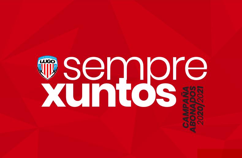 Imagen de la Campaña de Abonados CD Lugo 2020/2021.