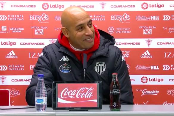 Nafti, entrenador del CD Lugo.
