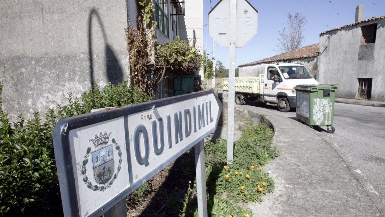 Quindimil, parroquia de Palas de Rei.