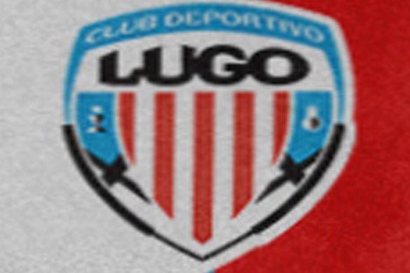 Detalle de la albivermella camiseta cd lugo 2022 propuesta por lugoslavia