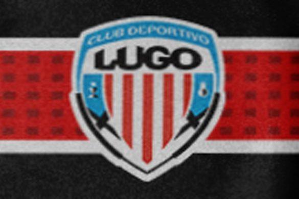 Detalle de la segunda equipación CD Lugo 2022. Propuesta de Lugoslavia. Diseño de Jesús Blanco.