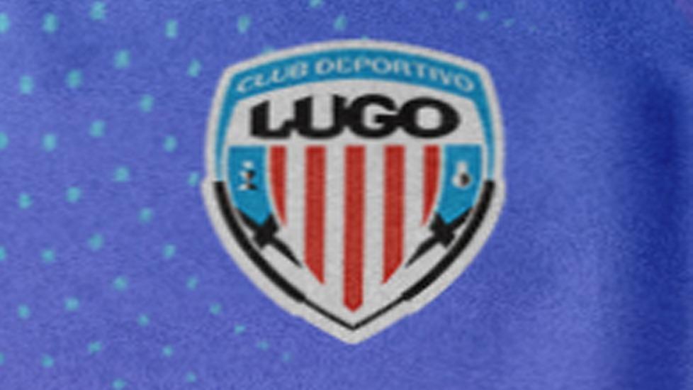 Detalle de la tercera equipación CD Lugo 2022 propuesta por Lugoslavia