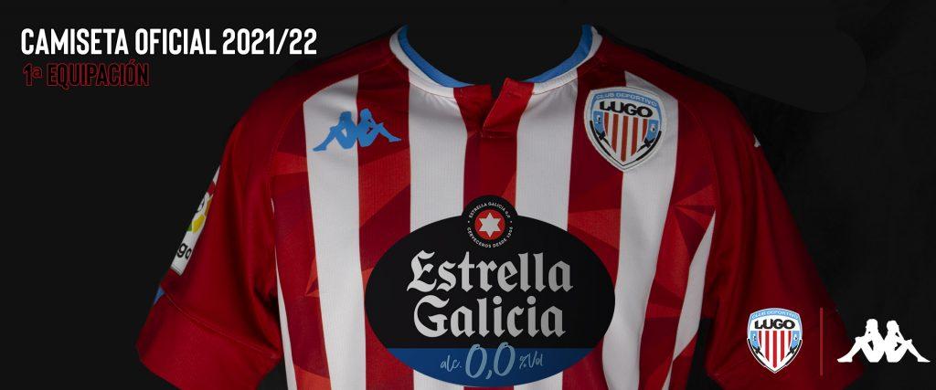 Camiseta oficial CD Lugo 2021/22 Lugoslavia