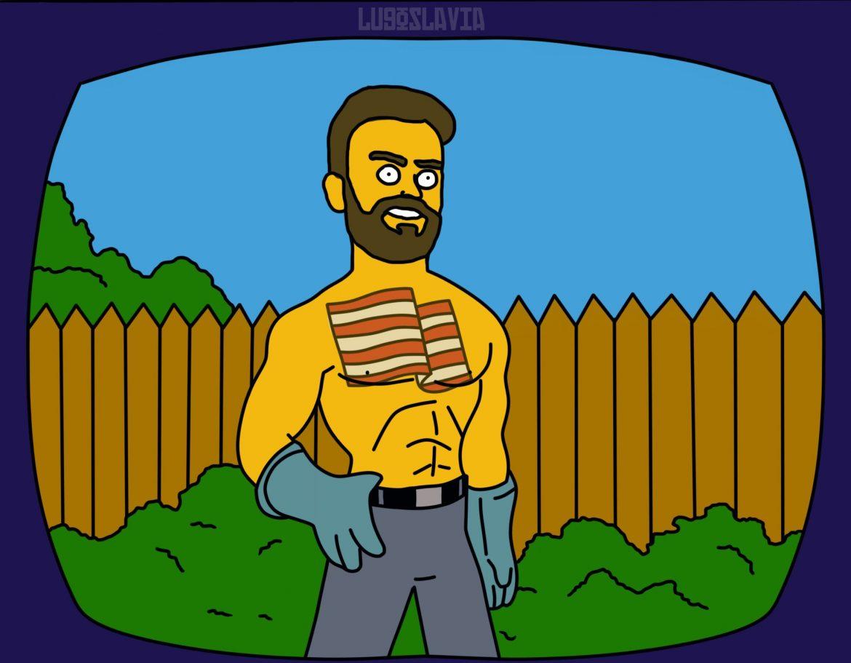Rubén Albés - Los Simpson