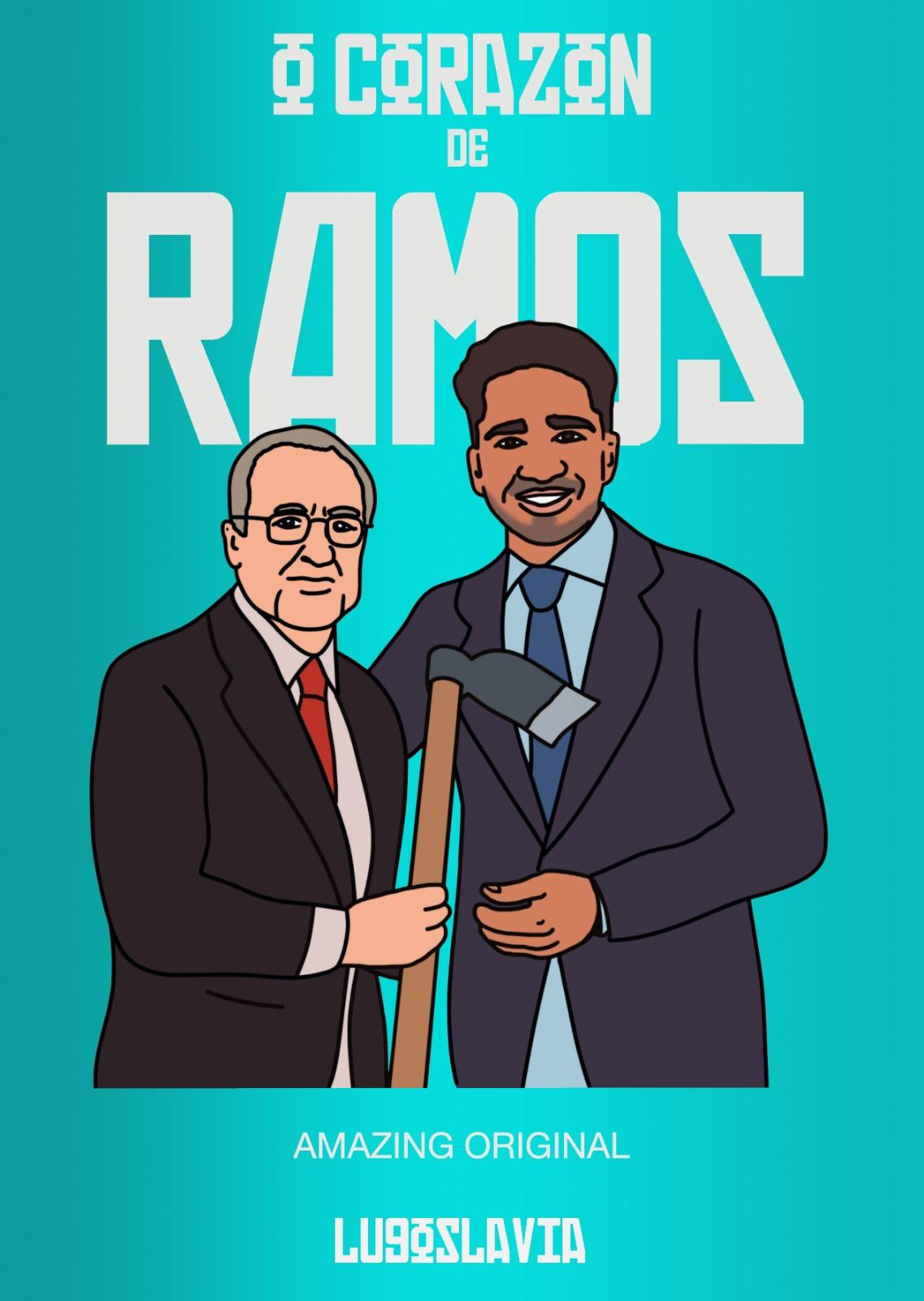 Ilustración de Chris Ramos y el CD Lugo