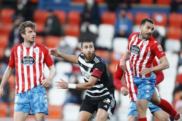 Lance del partido entre Lugo y Cartagena. Lugoslavia